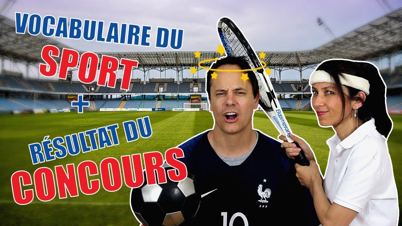 f1c7c9166 Vocabulaire du football et d'autres sports - Français avec Pierre