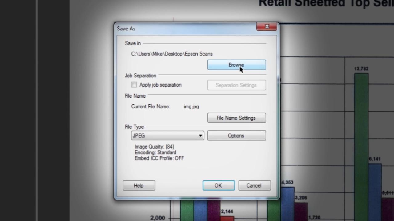 Epson Document Capture Pro Tutorial #1 - Basic Scanning