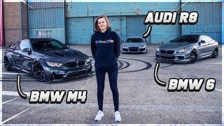 DONUTS MET BMW M4 LB, AUDI R8 & BMW 6! (BMW M4 Liberty Walk, Audi R8, BMW 6 Series)