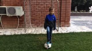 Видео урок футбол.Как сделать удар.