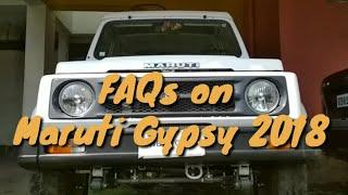 Maruti Gypsy Story FAQs Part III