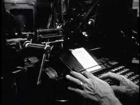 Bill's Linotype