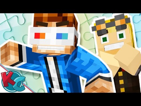 Minecraft Puzzle Partners Map: Ep2 - MOST CLUTCH TEAM!