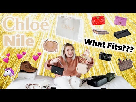 Small Chloe Nile Unboxing! What Fits Inside?📱iPlus Fits! Doe