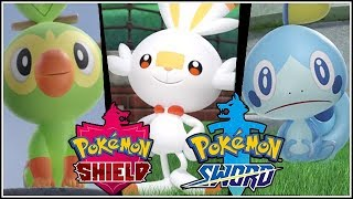 POKEMON SHIELD AND SWORD REACTION! WHAT STARTER WILL YOU PICK?