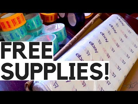 FREE eBay Shipping Supplies – How to get the coupon 2018 | Ralli Roots
