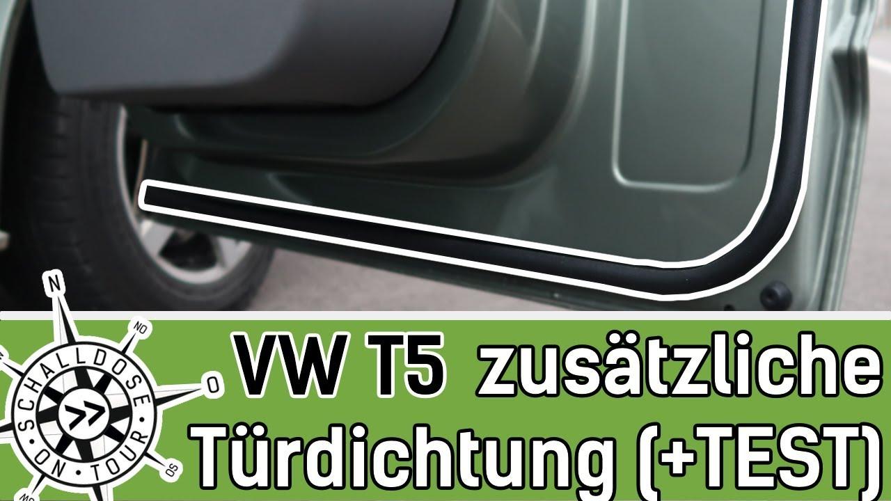 Relativ VW T5 Zusätzliche Türdichtungen - Einbau und Test || SCHALLDOSE ON RV25