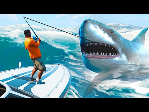 DEEP SEA FISHING IN GTA 5! (GTA 5 Mods)