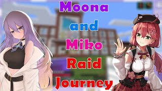 Moona and Miko Sudden Collab for the Raid Journey, its all start from The Elite Translation