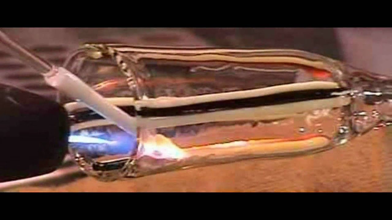 glass blowing laying color in glass tubing close up glass4life youtube - Glass Tubing