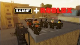 TROLLING AS THE ARMY IN ROBLOX | The Streets