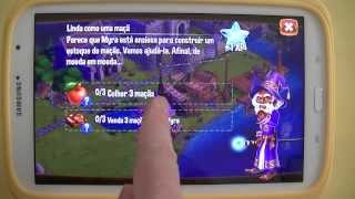Gameplay Android - Castle Ville Legends - Samsung Galaxy Note 8 - PT-BR - Brasil