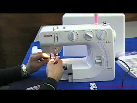 Janome J4040 Sewing Machine Review YouTube Magnificent Janome Sewing Machine 2032