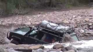 Range Rover river crossing fail & recovery