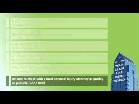 Atlanta Injury Lawyer 2013 - What Can Disqualify Me from a Successful Personal Injury Claim?