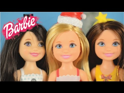 Barbie Chelsea Holiday Dolls / Christmas Caroling!