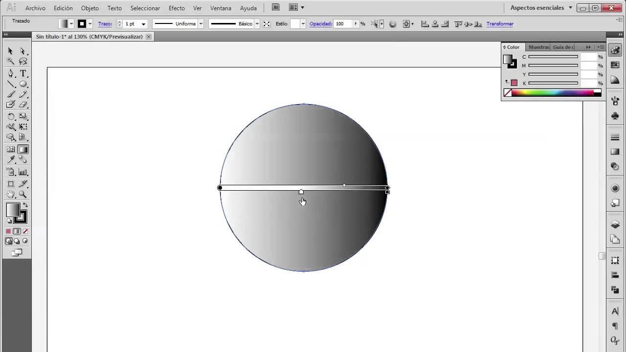 Cómo utilizar la herramienta de relleno y degradado en Adobe ...
