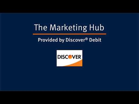 The Discover Debit Marketing Hub