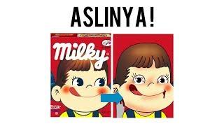 KANIBAL ! ini dia mitos dibalik peko chan, si maskot milky - annisaxsl//indonesia