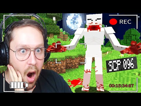 J'ai découvert SCP-096 sur ma survie Minecraft FNAF / SCP #6