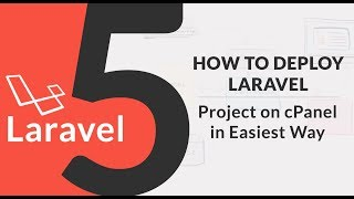 How to Deploy Laravel 5 Project on cPanel or Online Web Server in Easiest Way - (SR)