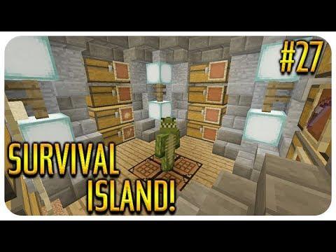 ✅ MINECRAFT - SURVIVAL ISLAND - THE SECRET ROOM Episode 27 thumbnail