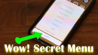 iPhone X Tip - Secret Menu You Didn