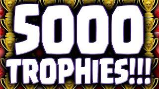 Clash of Clans ♦ 5000 TROPHIES! ♦ FIRST Legend League Player! ♦ Legendary! ♦