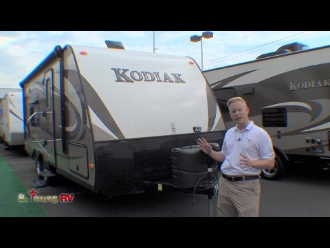 Stock #3350 2015 20-foot Kodiak Travel Trailer (Jeff Karlin)
