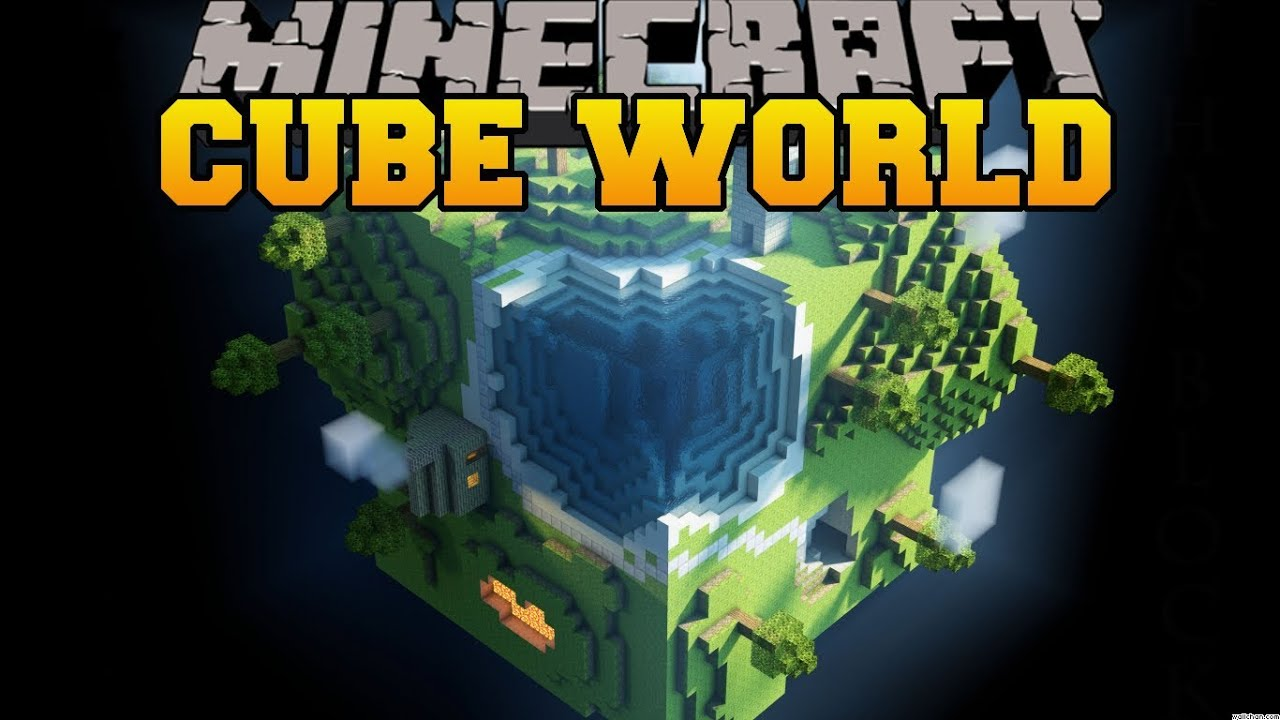 Minecraft cube world survival in giant cubes mod showcase youtube gumiabroncs Images