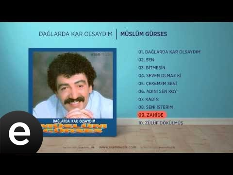 Zahide (Müslüm Gürses) Official Audio #zahide #müslümgürses - Esen Müzik