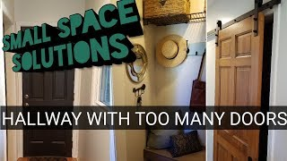 Small Space Design | Hallway With Too Many Doors!