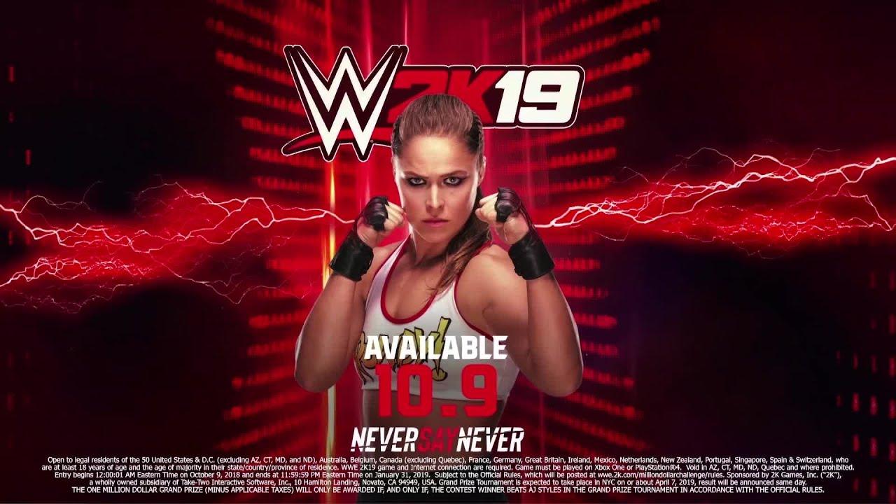 WWE 2K19 Adding Ronda Rousey as Pre-Order Bonus | Game Rant