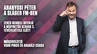 Interjú Aranyosi Péterrel | Sláger FM| Dumaszínház