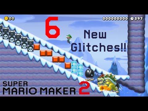 Players uncover more wacky Super Mario Maker 2 glitches