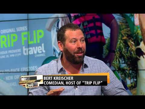 """BERT KREISCHER PROMOTING NEW TV SHOW """"TRIP FLIP"""""""