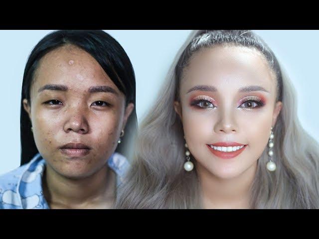 [Hùng Việt Makeup] Cô Bé 18 Tuổi Kém Sắc Lột Xác Nhờ Trang Điểm / Hùng Việt Makeup