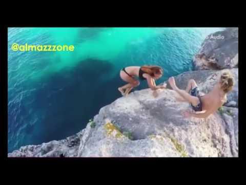 Девушка упала со скалы