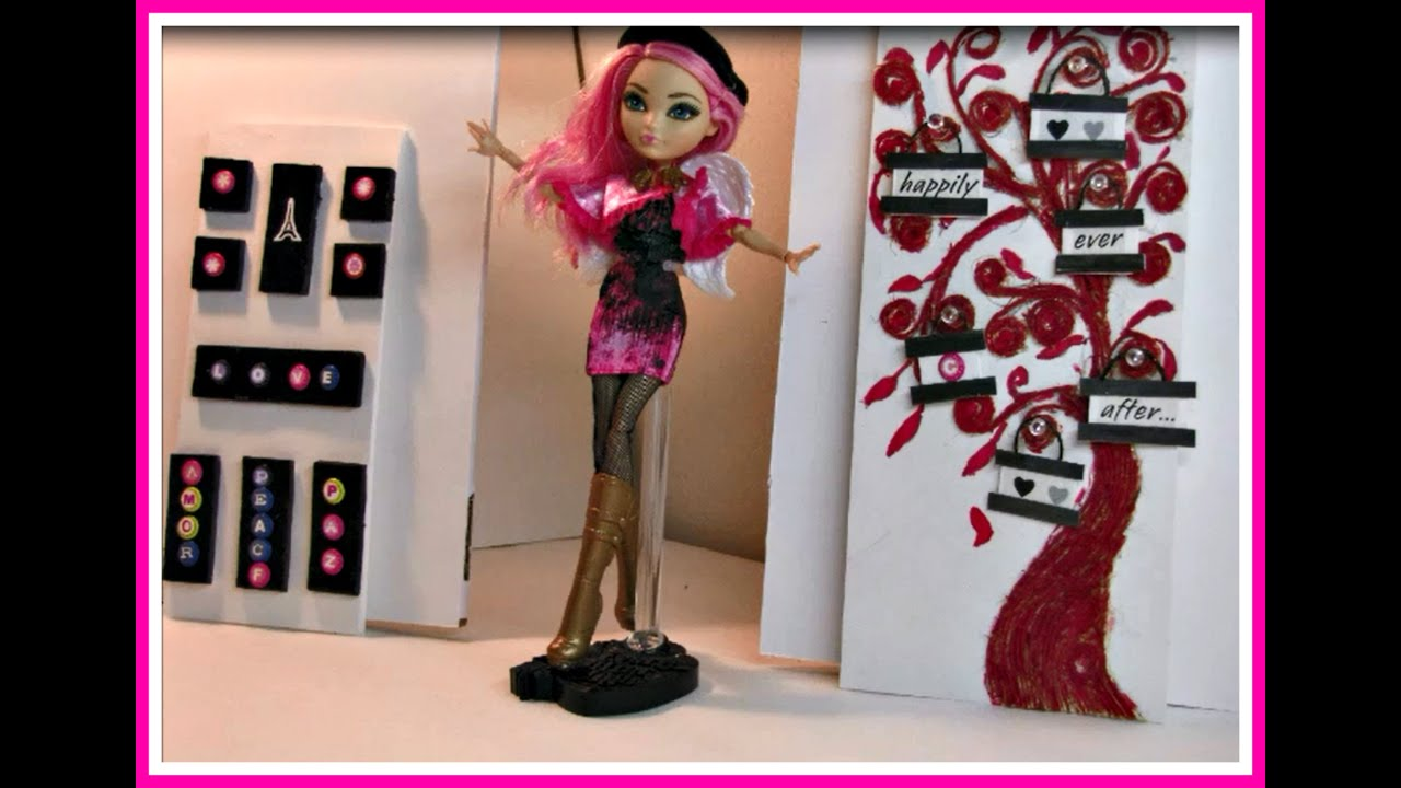 Como Decorar Tu Casa Economicamente Como Decorar Una Casa Para Muñecas Ever After High Dolls