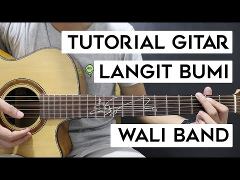 (Tutorial Gitar) WALI BAND - Langit Bumi | Mudah Dan Cepat Dimengerti Untuk Pemula
