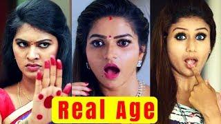 நம்ப பொண்ணுங்க உண்மையான வயச கேட்டீங்களா | Tamil Serial Actress Age | Manasa | Rachitha | Nithya Ram