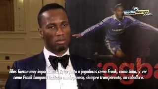 Didier Drogba, premiado por su contribución al futbol