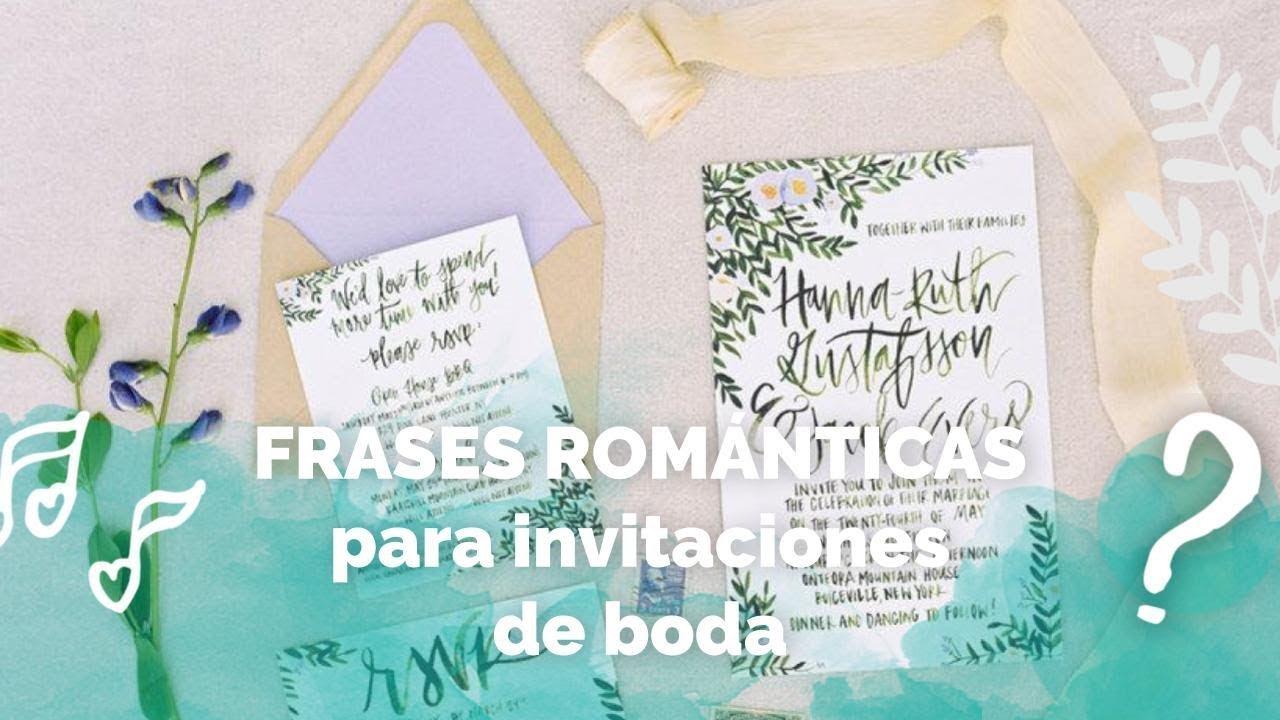 Frases Para Aniversario De Bodas: FRASES DE AMOR Para Invitaciones De Boda