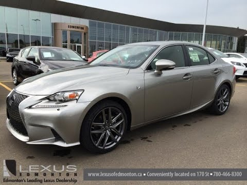 2015 lexus is 250 awd f sport series 2 review in atomic silver youtube. Black Bedroom Furniture Sets. Home Design Ideas