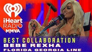 Florida Georgia Line and Bebe Rexha Win The Best Collaboration Award   2018 iHeartRadio MMVA Video