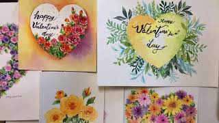 Let's draw-Valentines Day Idea…