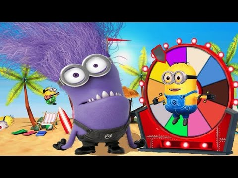 Despicable Me 2: Minion Rush Beach Run Monster Minion Party Part 91