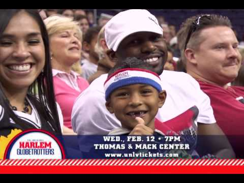 Harlem Globetrotters @ Thomas & Mack Center - February 12, 2014