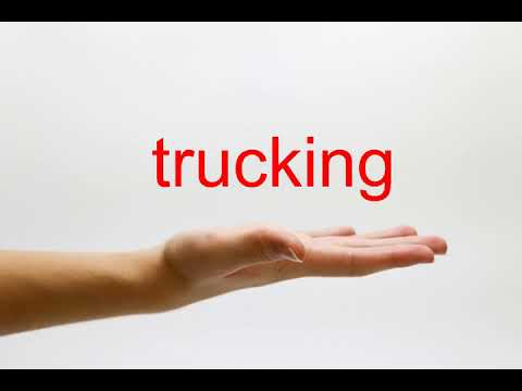 How to Pronounce trucking - American English