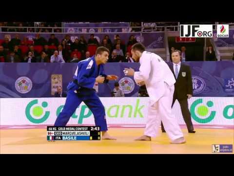 Judo 2016 Grand Prix Tbilisi: Margvelashvili (GEO) - Basile (ITA) [-66kg] final